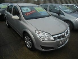 vauxhall astra 1.3 cdti diesel club (90) 5dr 2008 model,1 owner,11 service stamps,6 speed gearbox