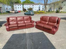 recliner 3 seater sofa with two seater sofa Delivery available