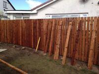 Storm Damage !! Fences Erected, Shed/Garage dismantled , all waste removed by us, 07542536495