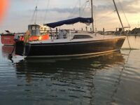Hunter Medina 20ft lift keel yacht with trailer and 2018/2019 mooring
