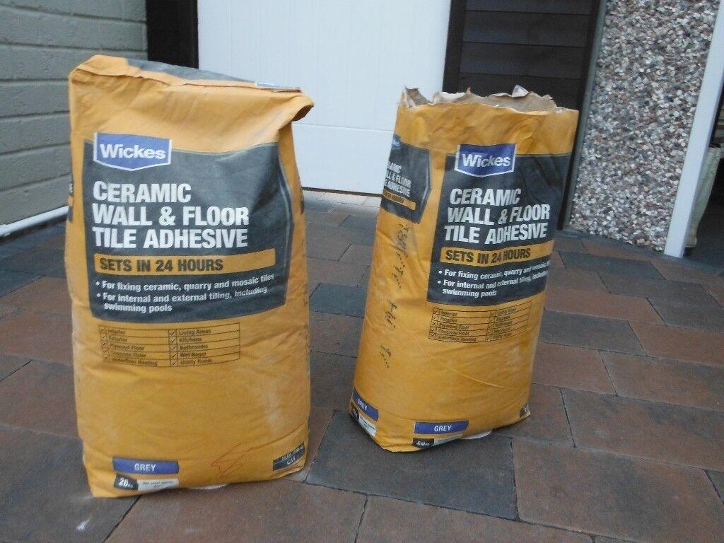 Wickes Wall And Floor Rapid Set Tile Adhesive 20kg 2 In Beverley