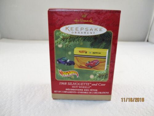 2000 Hallmark Keepsake Ornament (1968 Silhouette and Case)