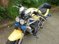 1200 BANDIT YELLOW AND BLUE FULL SERVICE HISTORY