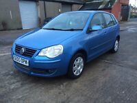2005 VOLKSWAGEN POLO 1.2 PETROL not fiesta golf focus civic 308 corsa clio 7 seater