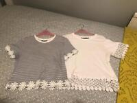 OFFERS 2 x Topshop t-shirts