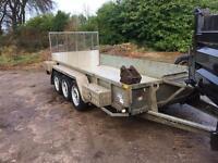 Ivor William plant trailer 14by6