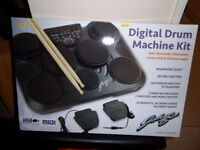 Portable Electronic Drum Kit