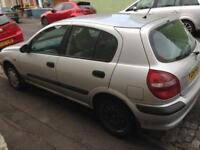 Nissan almera- spares and repairs