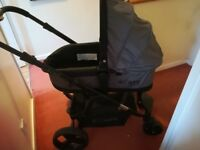 Isafe 3 in 1 pushchair