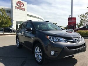 2015 Toyota RAV4 Limited - Toyota Certified, Local Vehicle!!