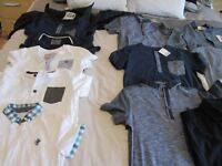 Boys tops and jacket (next and M&S) some still with tags on age 7 & 7-8