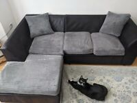 2 piece, L shaped sofa, accepting offers