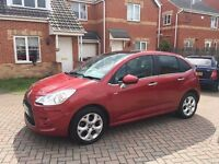 2011 CITROEN C3 1.6 DIESEL EXCLUSIVE, TAX £30, CRUISE, SERVICE HISTORY