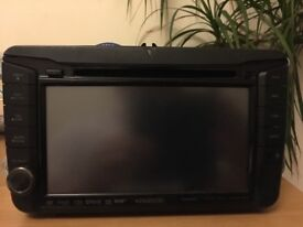 Designed for VW,SKODA&SEAT cars.2DIN multimedia receiver,Bluetooth,navigation &DAB tuner built-in