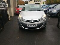 Vauxhall Corsa 2011 1.2 Petrol Manual 3 Door Hatchback Silver Service History