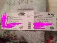 Craig David tickets £80 for both