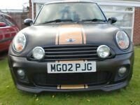 2007 MINI COOPER JCW 1.6 PETROL MATT BLACK. PRIVATE PLATE.