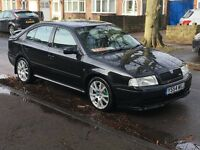 SKODA OCTAVIA VRS 1.8 2005 COMES WITH WELL MAINTAINED SERVICE HISTORY PLUS OLD INVOICES P/X WELCOME