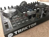 Native Instruments Traktor S4 with case and extras.