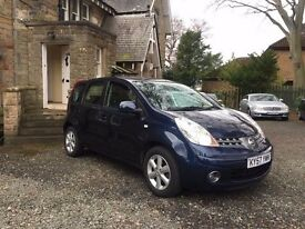 NISSAN NOTE 1.4 ACCENTA 5DR [60000 MLS / GREAT SPEC / SERVICE HISTORY]