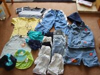 boys summer bundle 3-4 (stripy top) and 4-5 years £8.50 a bundle smoke and pet free home