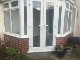 Conservatory (UPVC windows and patio doors/French doors) for sale