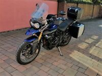 Tiger 800 with loads of extras!