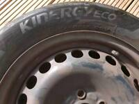 Ford galaxy wheel with tyre