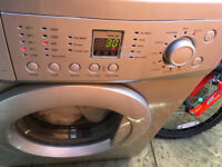 Direct drive washing machine, 7kg, spin, silver, £75 ono: