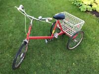 Pashley adult trike bike!!! Red Tricycle in good condition!!!