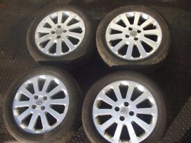 Corsa D Alloy Wheel inc Tyre LTD EDITION 10 Spoke possible PX ring for more info