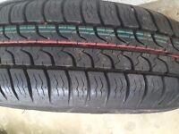 BRAND NEW TYRE AND RIM NEVER BE ON CAR SIZE 175/80