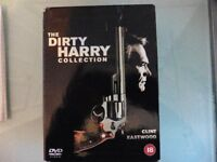 clint eastwood the dirty harry collection box set.
