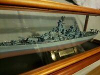 U.S.S Missouri by Franklin mint precision models U.S Battleship BB-63 AMAZING DETAIL