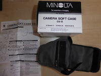 Minolta CS5 soft camera case