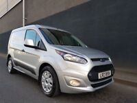 FEBRUARY 2017 FORD CONNECT 200 TREND 1.6 TDCI 5SPEED 426 MILES LIKE NEW EXCELLENT SPEC -- 3SEATS --