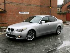 BMW 525D AUTO M SPORT 2004 LOW MILLAGE 2 OWNERS