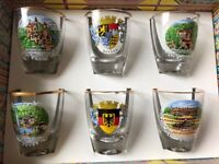 Brand new German Shot Glasses
