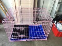 Dog cage £25