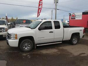 2010 CHEVROLET SILVERADO 1500 LS EXTENDED CAB 4WD Prince George British Columbia image 2