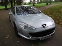 PEUGEOT 407 2.7 V6 HDi GT + FREE 3M WARRANTY + FINANCE AVAILABLE + CALL 01162149247 (silver) 2006
