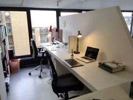 LARGE DESK SPACES (SEMI SELF CONTAINED) IN LONDON FIELDS - HACKNEY