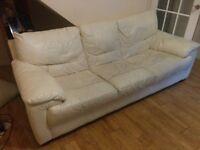 White 3 seater sofa - Free