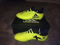 Size 7 Adidas X17.2 football boots