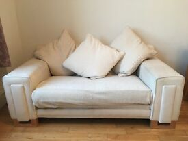 Free sofas! White 2-seater and 3-seater sofas. Free for anyone who can collect.