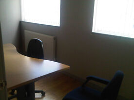 Generous office space to Let Oldham Road Manchester £455.00 per month