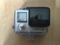 GoPro Hero 4 Silver with multiple accessories