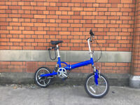 Folding Bike with Full Suspension
