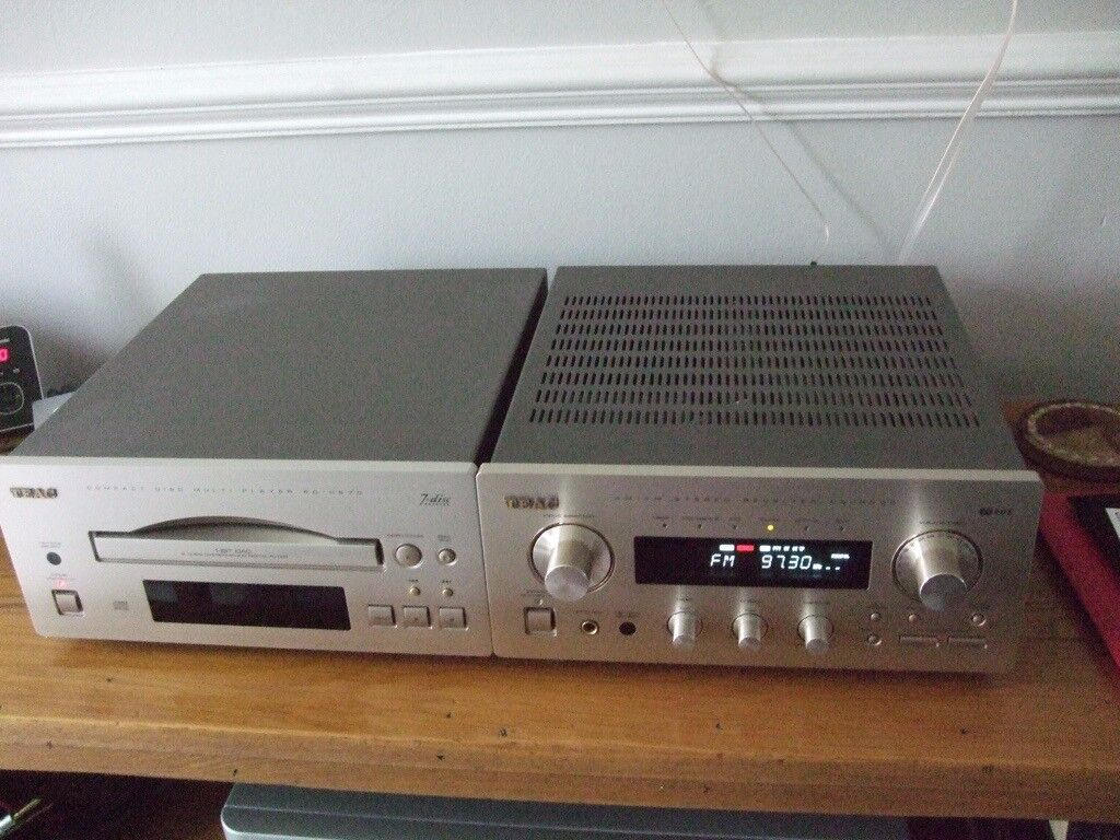 TEAC Reference Series AG-H500 receiver/PD H570 CD player | in Windsor,  Berkshire | Gumtree