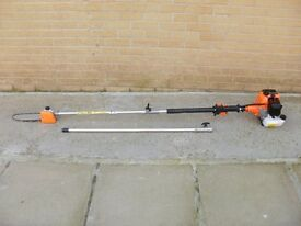Pole chainsaw pruner with extension pole high reach for garden tree branch lopper shears secateurs